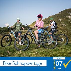 Bike Schnuppertage