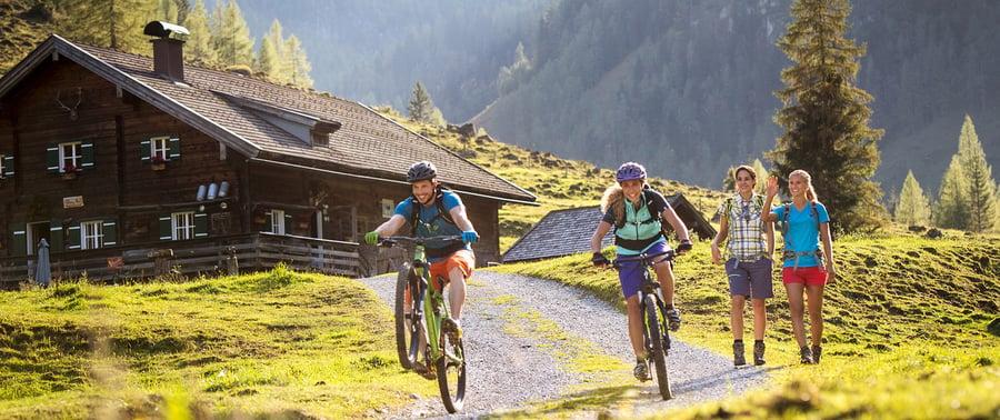 Mountainbike Touren in Salzburg mit Hüttenziel_2