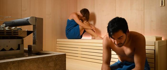 Zeit im Wellnessbereich auch im Kurzurlaub im Hotel mit Wellness Sauna und Massage