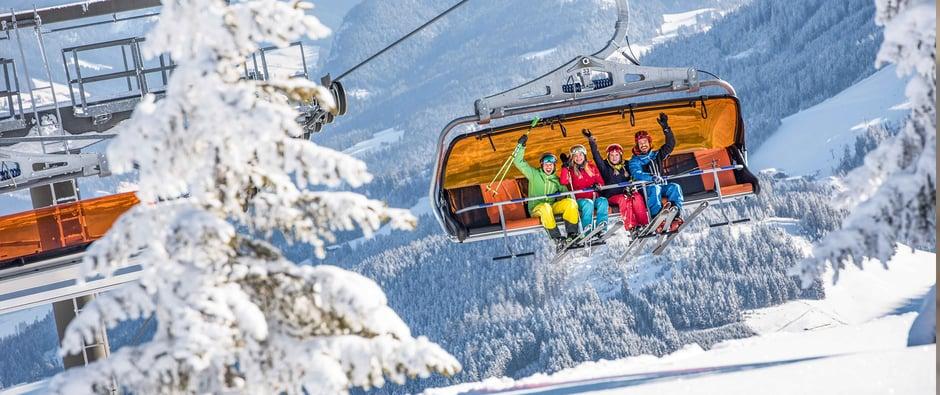 Skigebiet beliebt