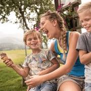 Familienzeit Urlaub harmls Flachau