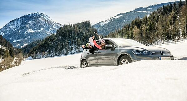 Hotel Tauernhof Umweltbewusst Winterurlaub Auto Skiurlaub