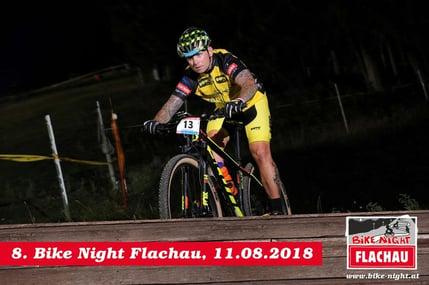 Franz Preis bei der Bike Night Flachau