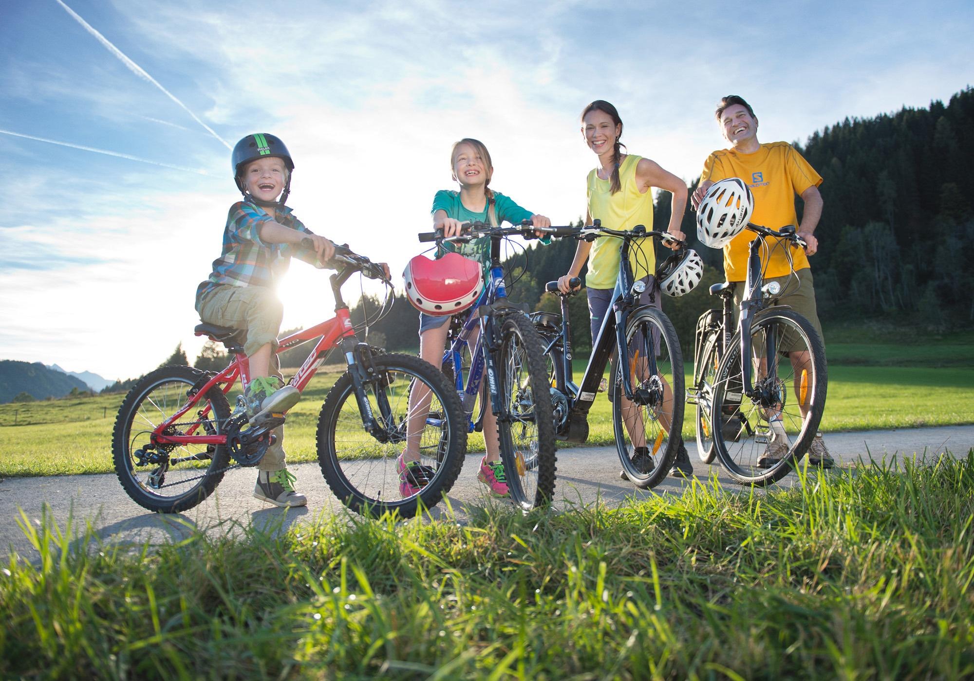 Mountainbiken mit Kindern