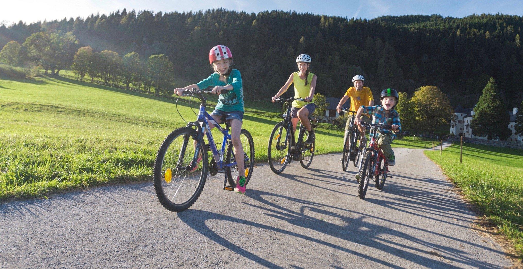 Mountainbike Familienurlaub