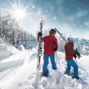 Ski amade Klima Salzburger Land Hotel Tauernhof in Flachau Österreich Skiurlaub Winter