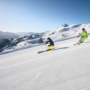 Skifahren snowspace salzburg Skiurlaub Flachau Hotel Tauernhof Winter Klimaschutz