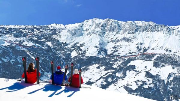 Bleib am laufendem bei der Ski amadé