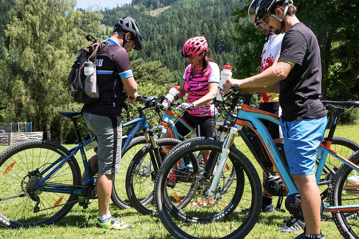 Tipps Downhillbiken Grundposition Sporturlaub