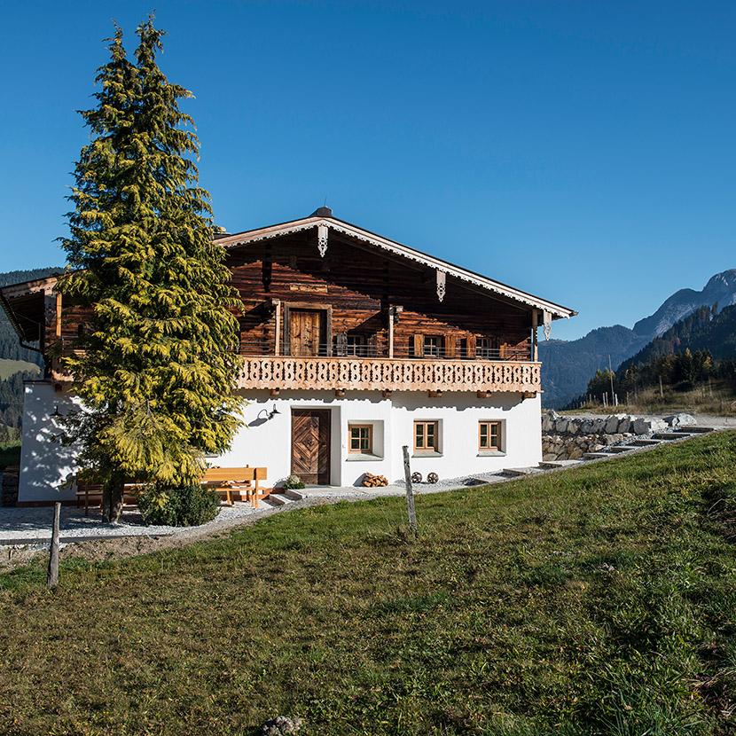 Urlaub im Luxuschalet Kaeth und Nanei in Annaberg im Salzburger Land in Österreich Einfach sein!