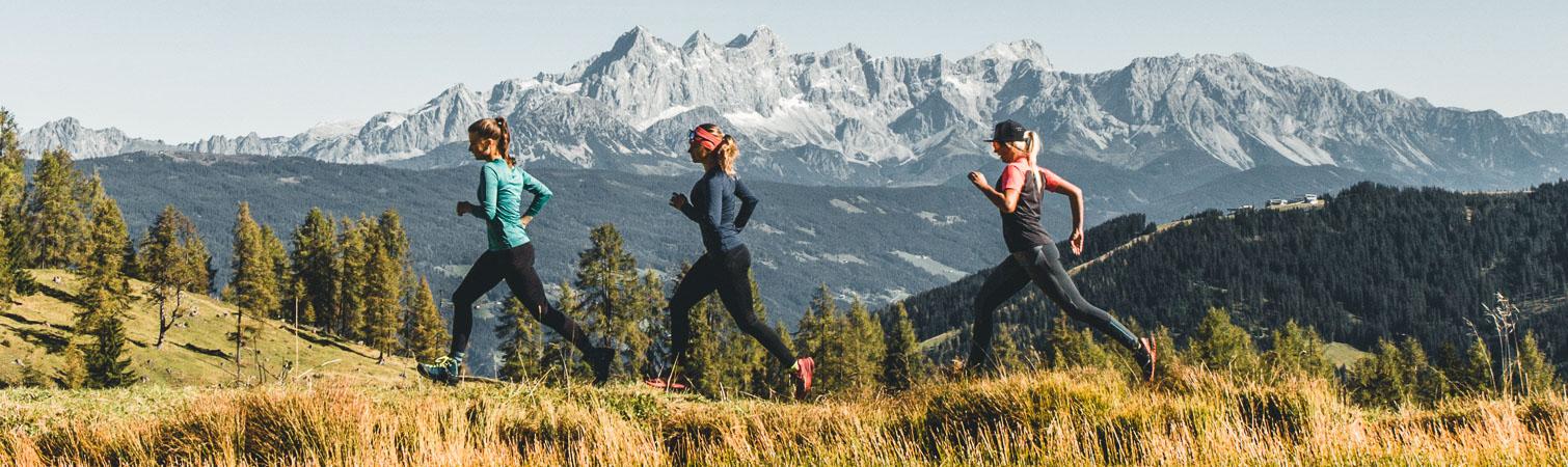 Lackenkogel Wandern Salzburger Gipfelspiel Tauernhof Hotel in Flachau Wanderurlaub