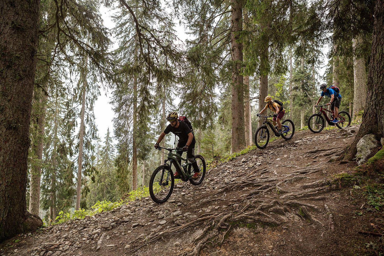 Trailtechnik Tipps Bikeurlaub Downhill