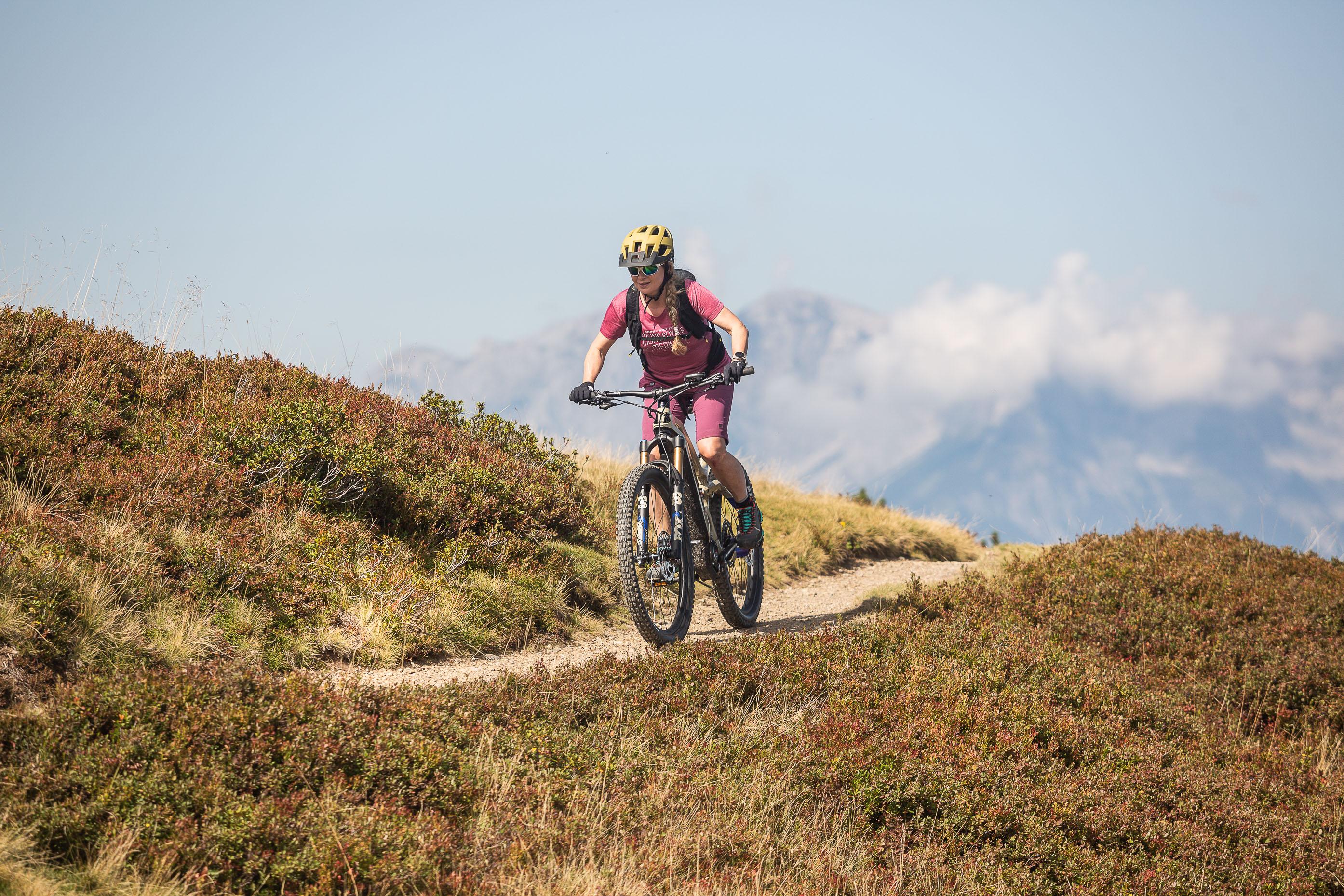 Downhilltipps Gewichtsverlagerung Bikeurlaub Flachau