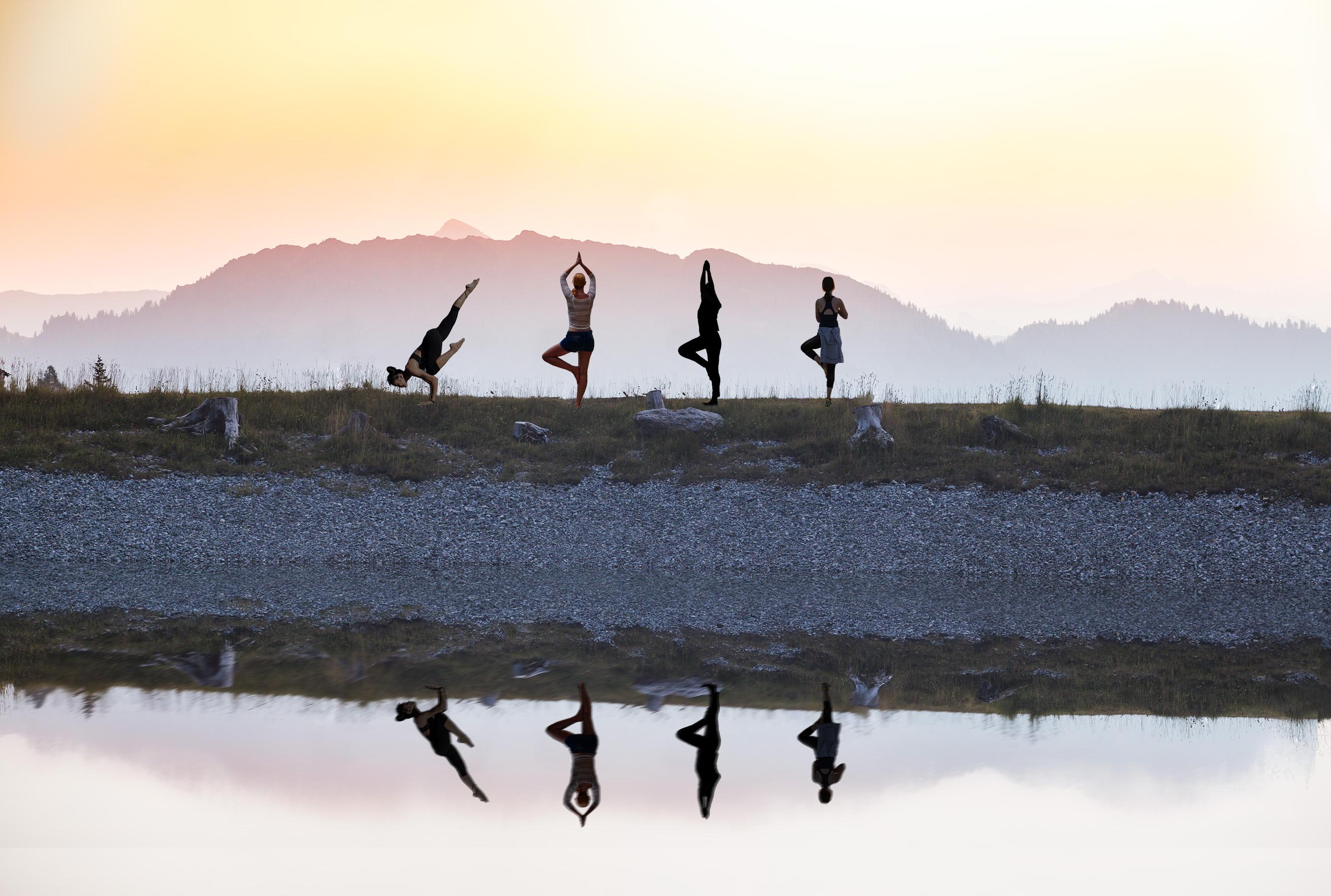 Yogatage Tauernhof Flachau Entspannung Österreich Urlaub Yogaurlaub Wellness