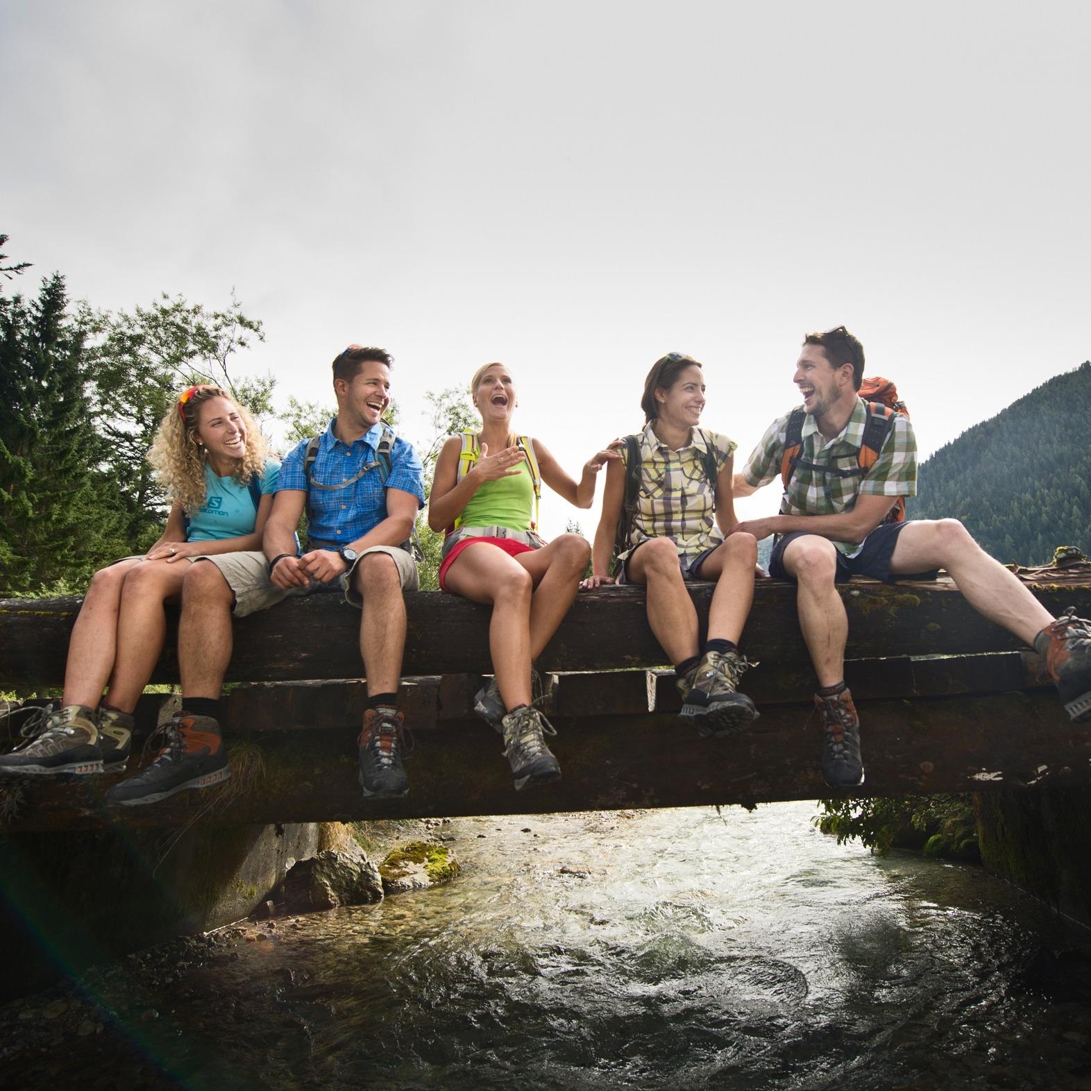 Sanfte-Sportmoeglichkeiten Wandern Bikehotel Tauernhof
