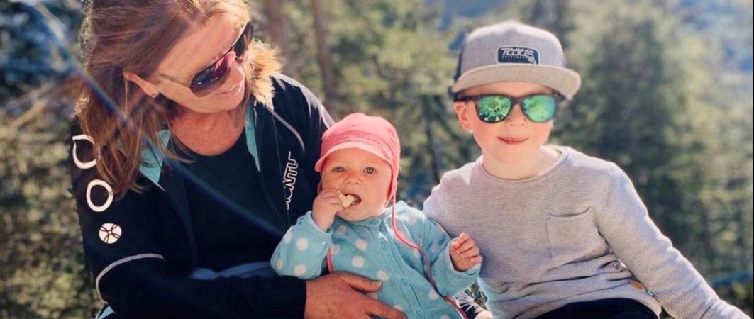 Wanderurlaub Kinder Kleinkind Wanderkraxe Kleinkindausstattung Flachau Harmls