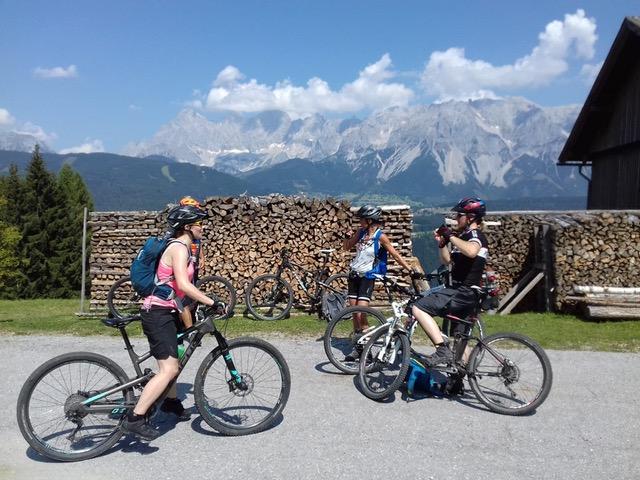Wie Claudia das Biken in Flachau für sich entdeckte